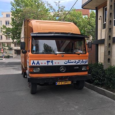 خاور حمل بار در تهران